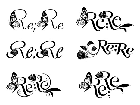 Re;Re ロゴ没案